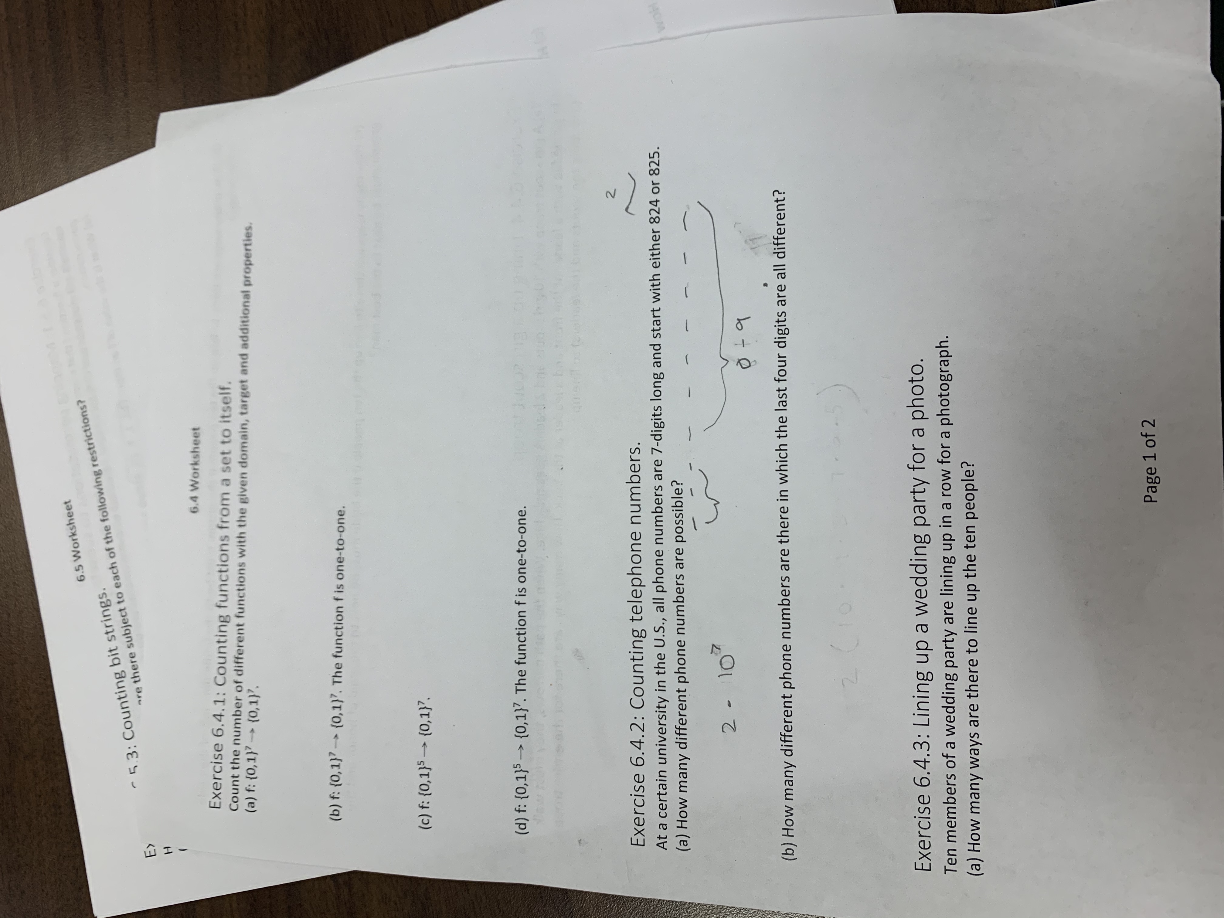 Answered 6 5 Worksheet 5 3 Counting Bit