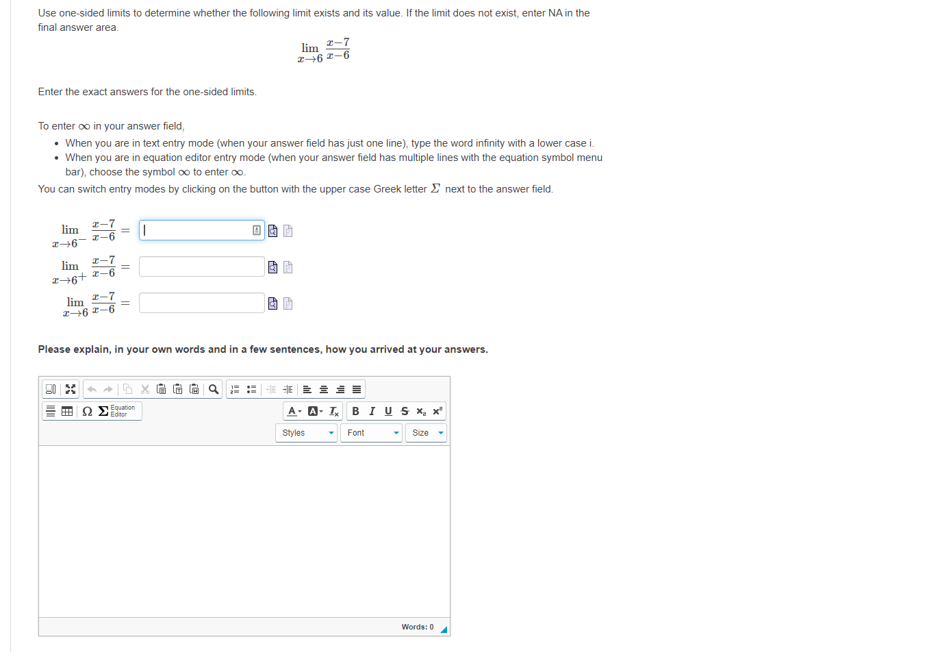 Answered Use One Sided Limits To Determine