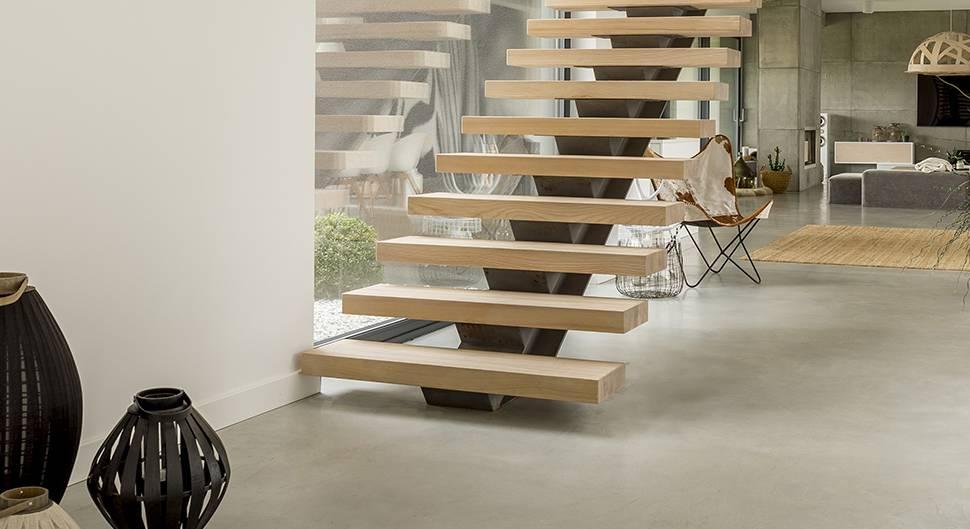 escalier comparatif des typologies