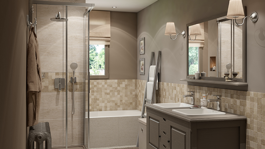 salle de bain 7m2 optimiser l espace