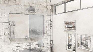 salle de bain industrielle quid d une