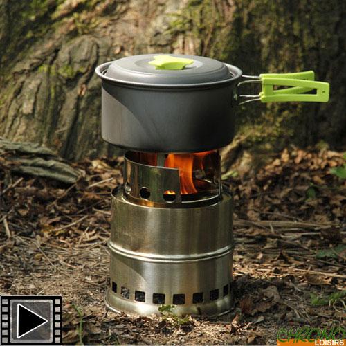 rechaud a bois carp design wood stove portable