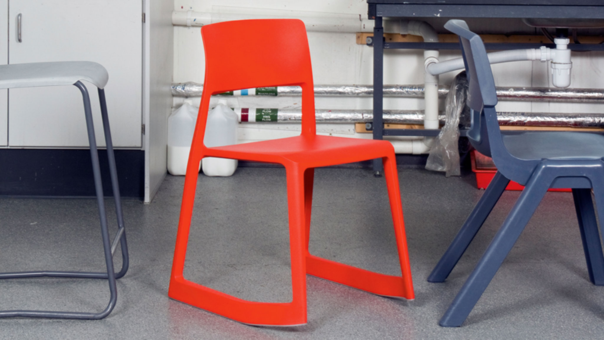 The Tip Ton Chair by Barber Osgerby