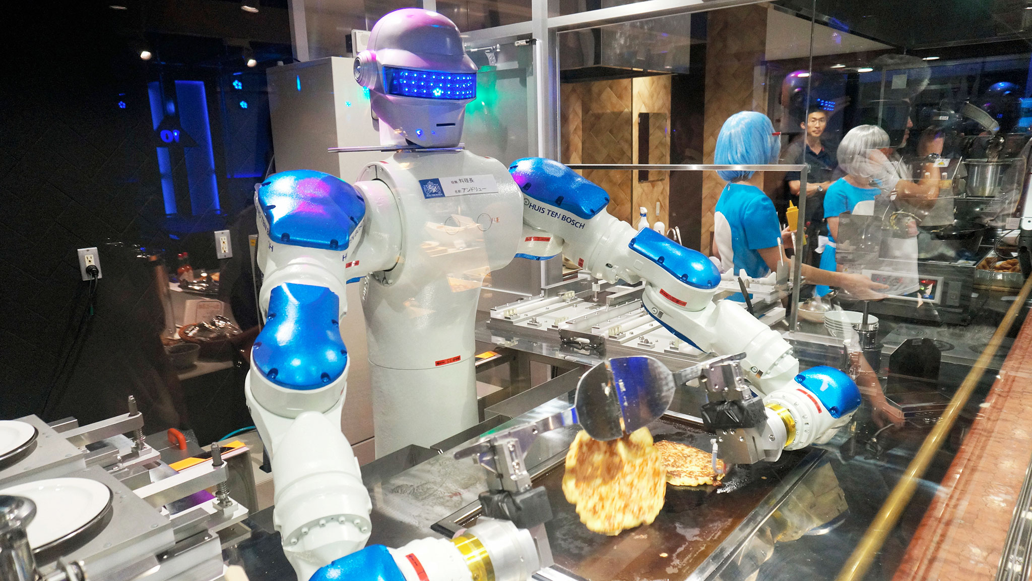 Japans robot chefs aim to show how far automation can go