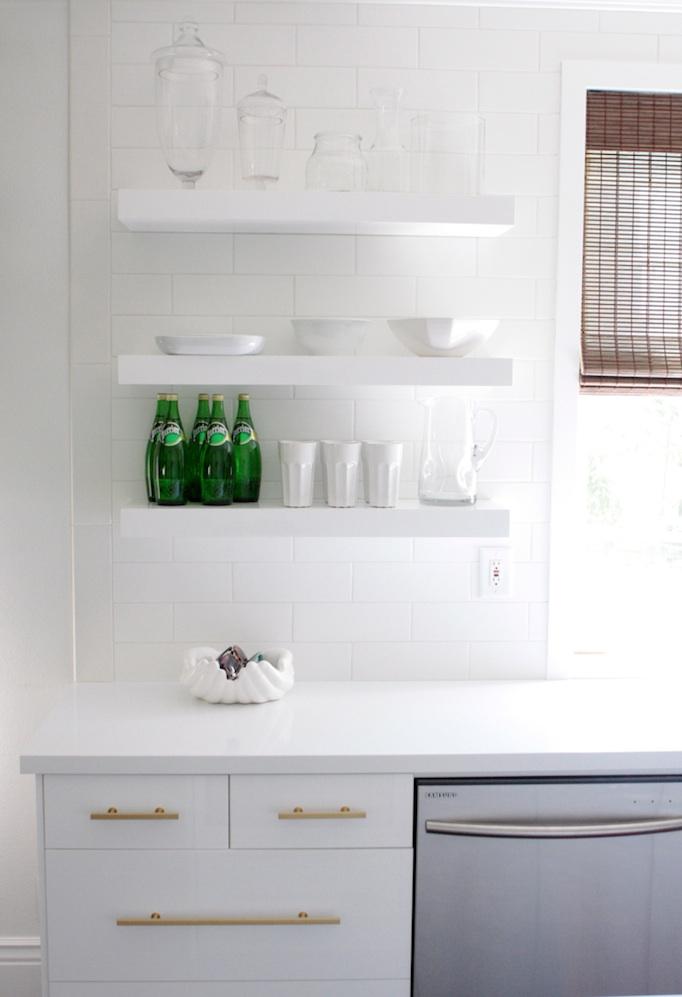 White updated modern kitchen