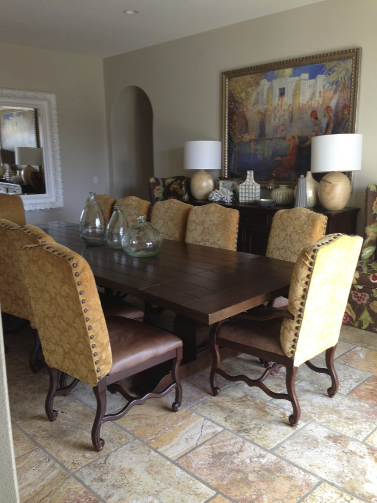 How to remodel a tuscan dining room - Owens and Davis