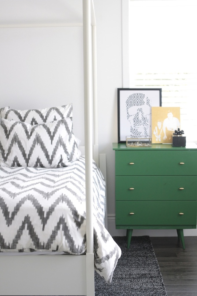 Chevron Bedding becki owens blog