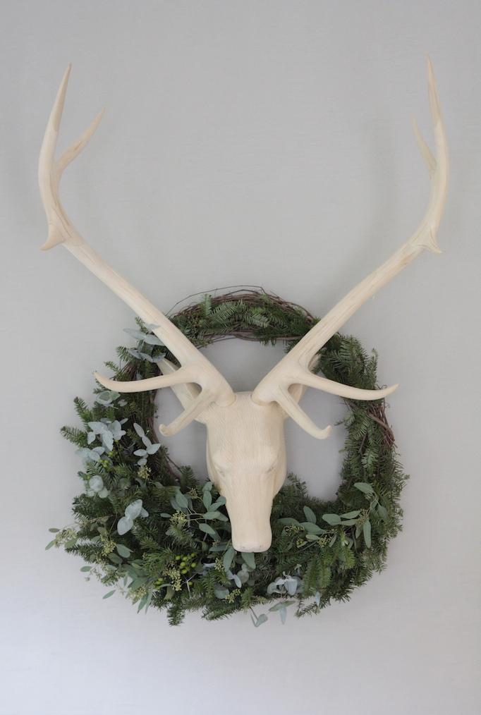 DIY Holiday Wreath Owens and Davis