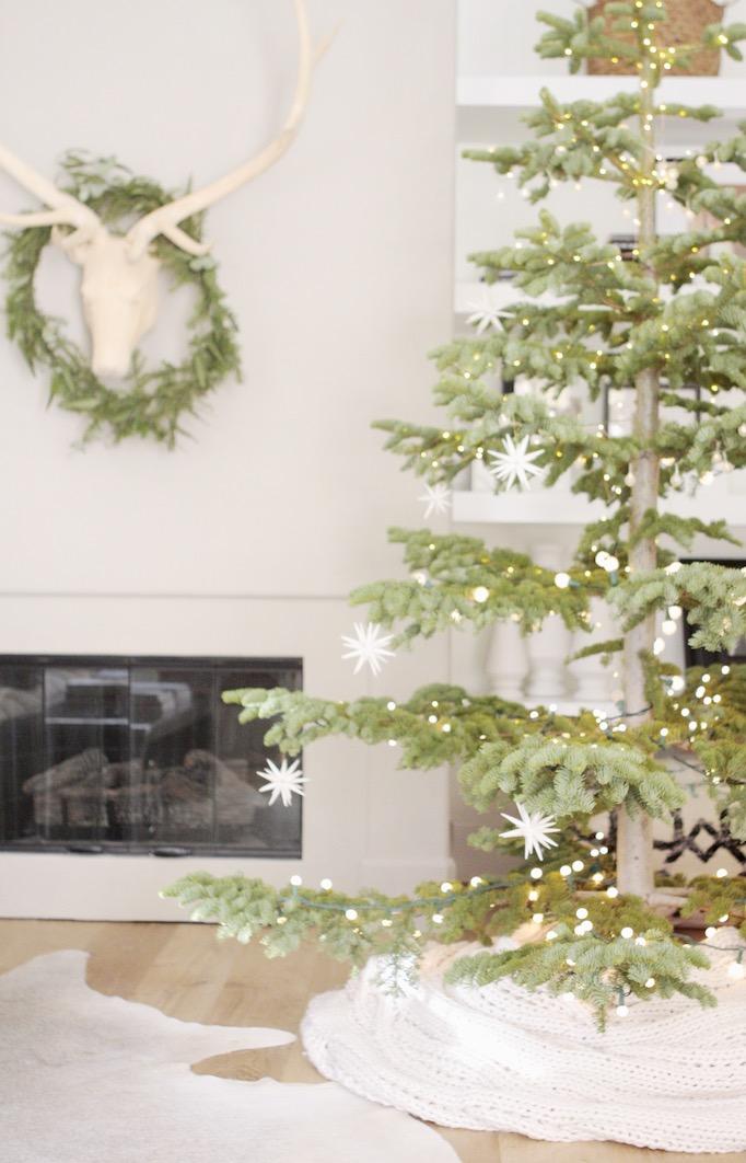 simple white Christmas becki owens blog