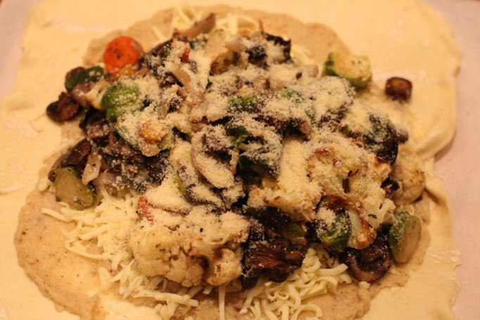 Roasted Vegetable Crostata