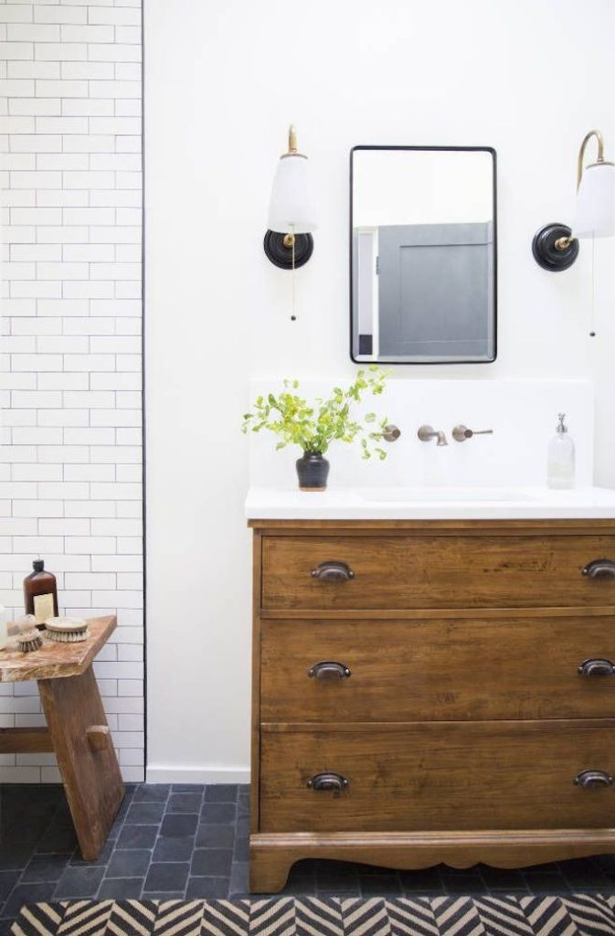 Black and White Bathrooms  Becki Owens