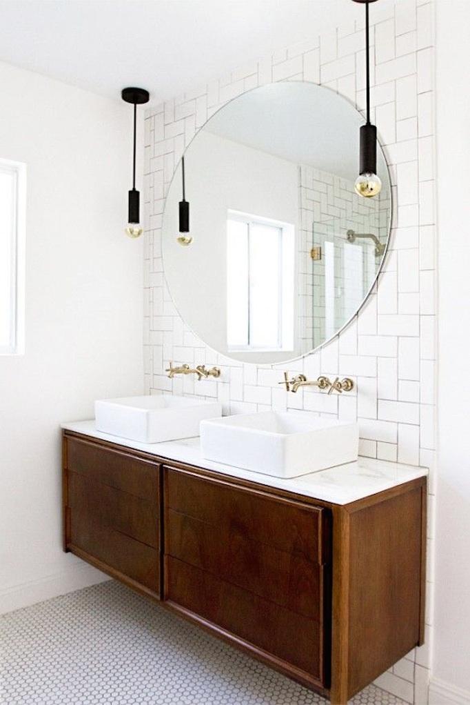 mid-century bathroom