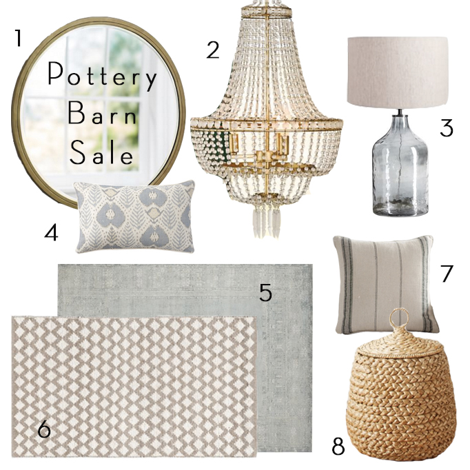 Pottery Barn Friends and Family Sale