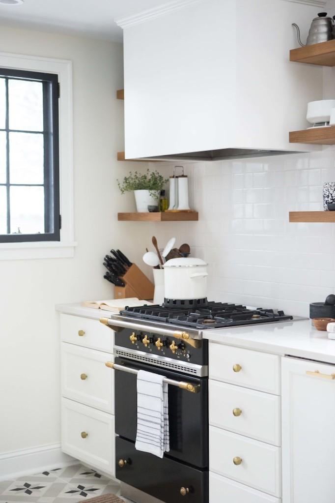 black and white tile kitchen window decoration ideas charming brass renovation