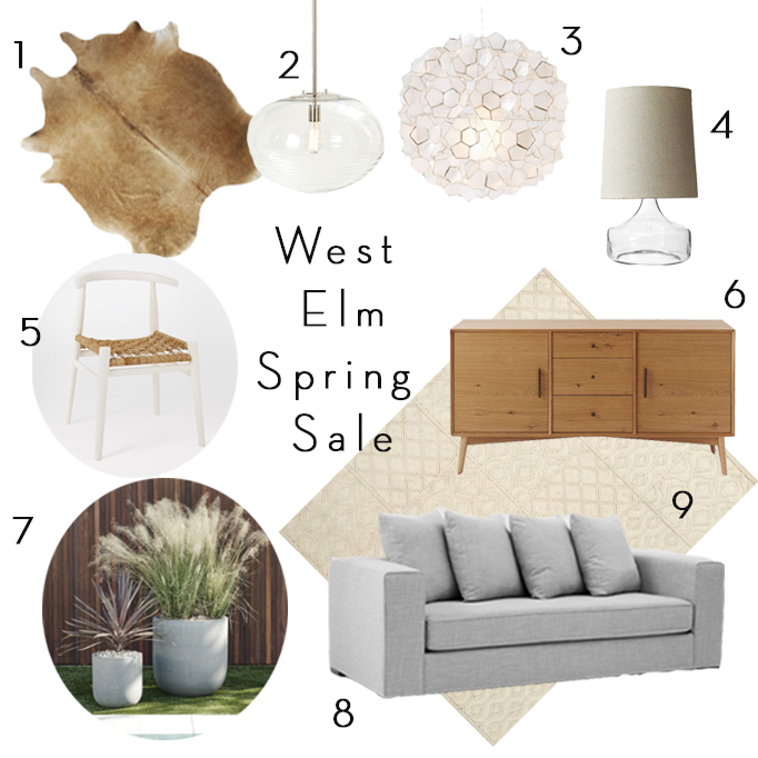 spring west elm sale