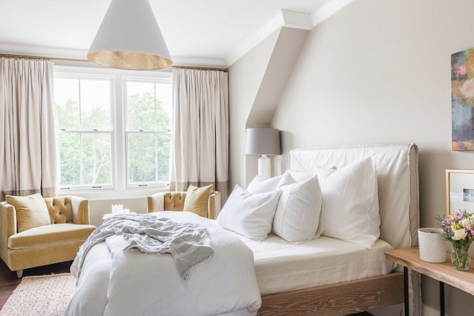 Southern Style Home Master Bedroom