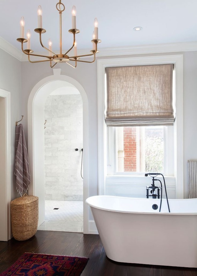 freestanding tub. classic freestanding tub 5 Ideas for Free standing Tubs  Roundup Becki Owens