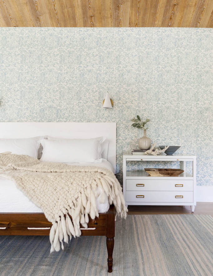 modern mediterranean bedroom
