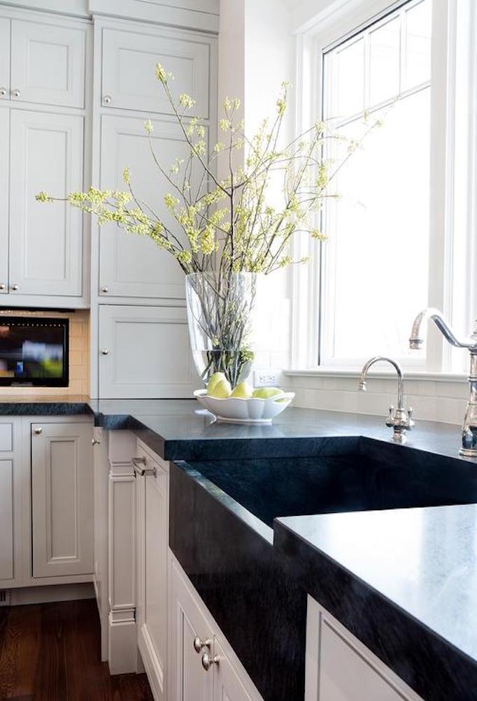 White Apron Sink  AlternativesBECKI OWENS