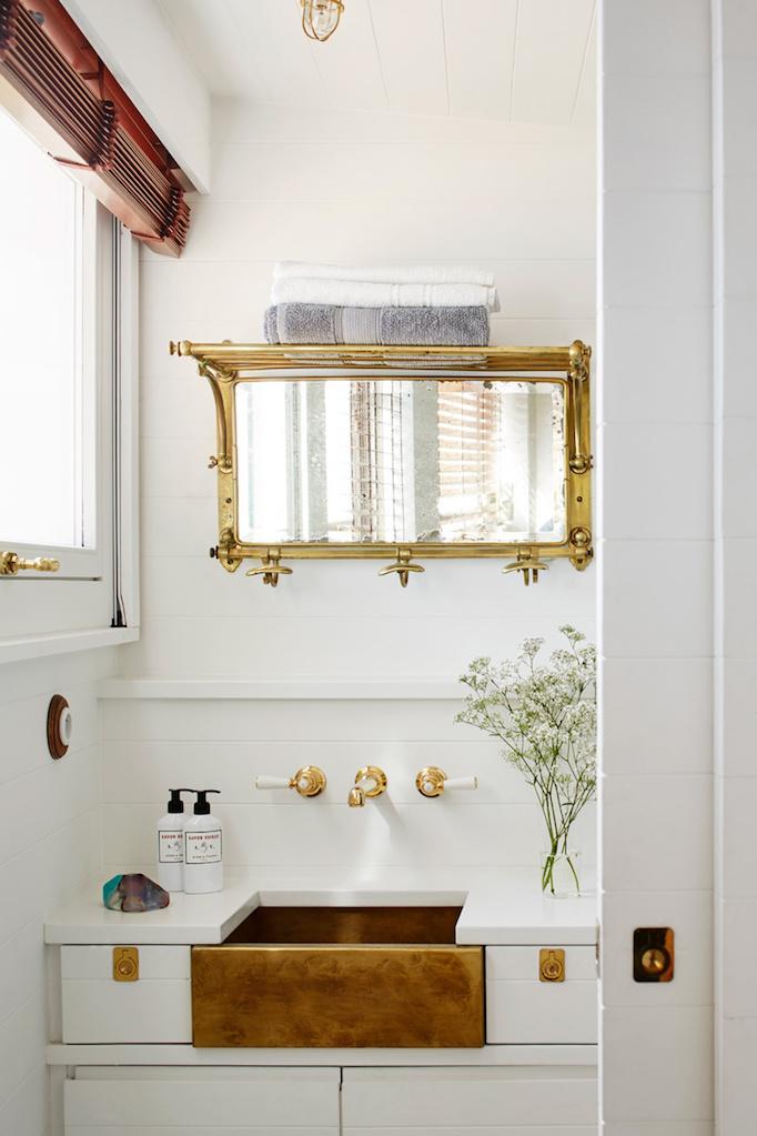 brass-apron-sink-in-bathroom