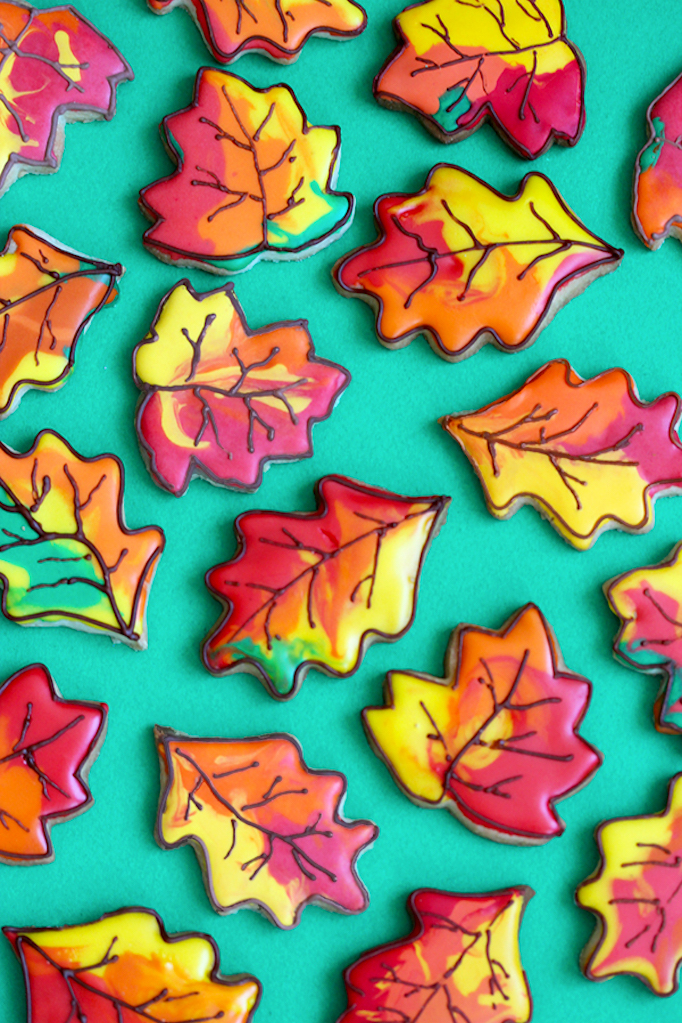 fall-leaf-cookies