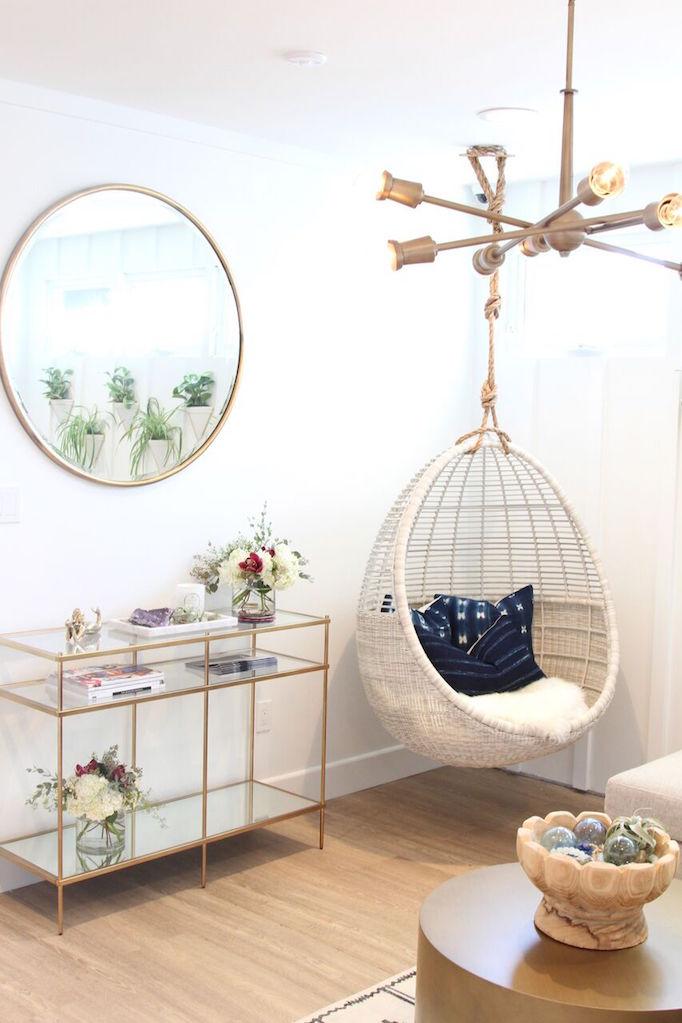 black hanging chair for bedroom revolving with armrest gorjana flagship store revealbecki owens