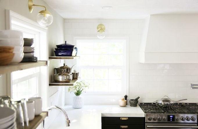 BECKI OWENS Marble Alternative White Concrete Counters