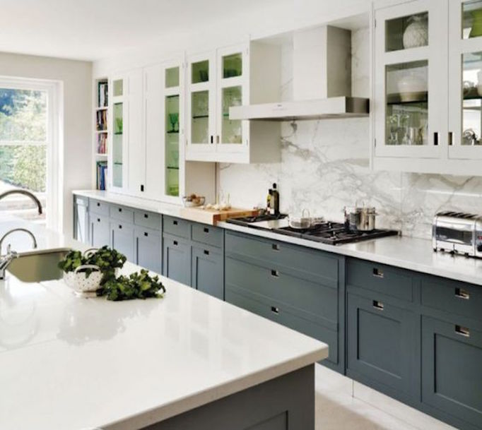 BECKI OWENS Marble Alternative White Concrete