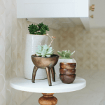 Styling Tip: Adding Greenery with Succulents