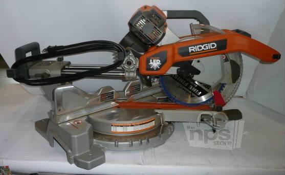 Ridgid MS255SR 10quot Sliding Compound Miter Saw with Dual