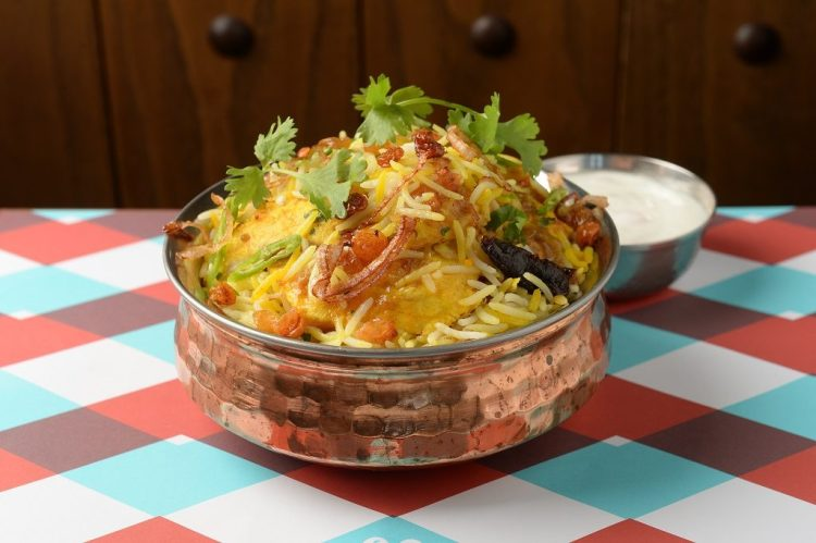 Chicken Biryani at Logma - where to dine during your Dubai holiday