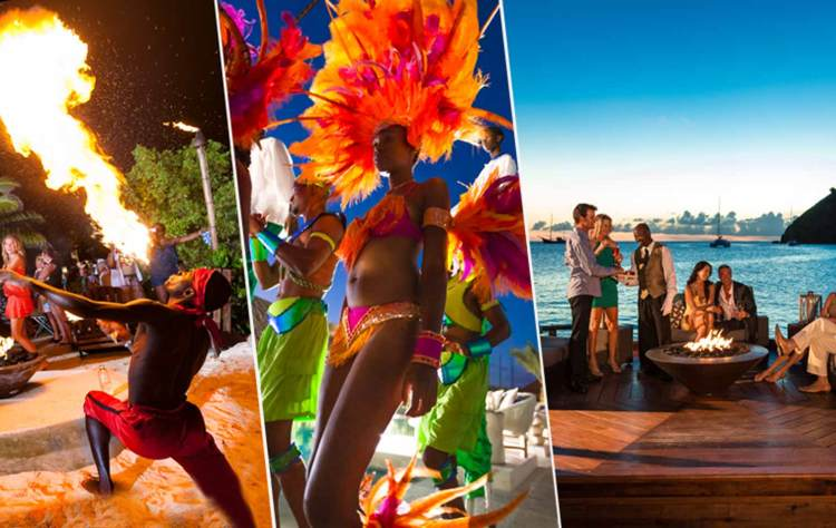 Get the party started at Sandals