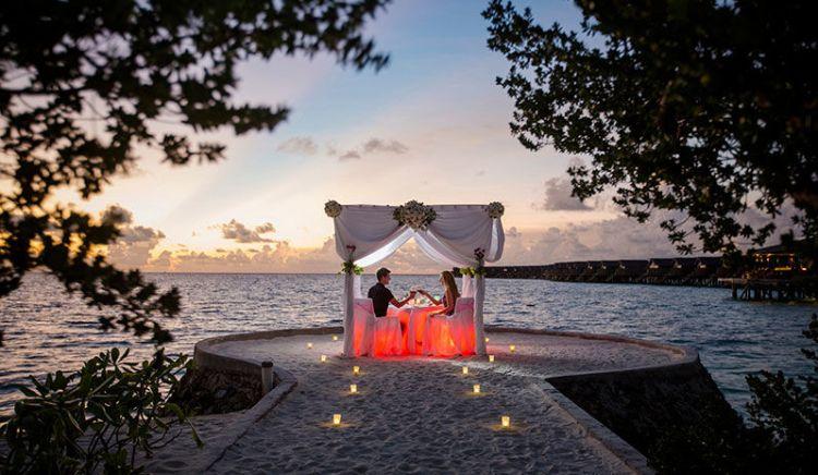 Centara Ras Fushi in the Maldives, the ultimate couples' retreat