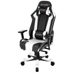 Dxracer Gaming Chairs Upholstered Folding Buy King Series Black White Office Chair Game Kb06