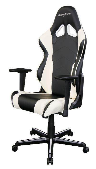 dxracer chair accessories xenium swivel buy rf racing series gaming - black & white | game devices scorptec computers
