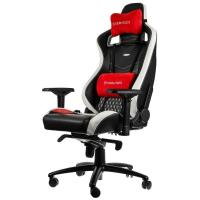 Buy noblechairs EPIC Series Real Leather Black White & Red ...