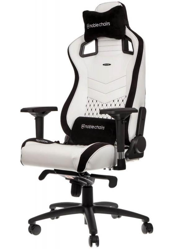 Buy noblechairs EPIC Series Faux Leather White Gaming