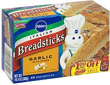 Pillsbury Italian Breadsticks Garlic with Herbs 106 oz