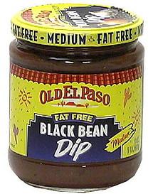 Old El Paso Black Bean Dip Fat Free Medium 160 oz