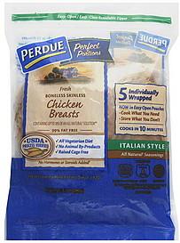 Perdue Chicken Breasts Boneless Skinless Italian Style 5
