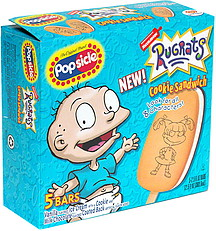 Popsicle Rugrats Cookie Sandwich with Characters 50 ea