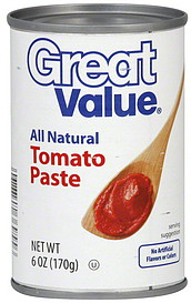 Great Value Tomato Paste 60 oz Nutrition Information