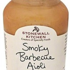 Stonewall Kitchen Aioli Restaurant Design Smoky Barbecue 10 75 Oz Nutrition