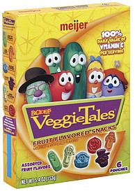 Facts About Healthy Eating Meijer Fruit Flavored Snacks Assorted Big Idea S Veggie