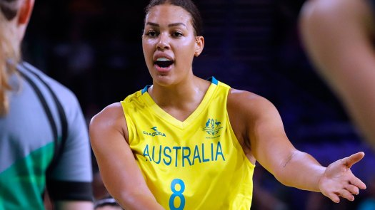 Liz Cambage - Sport News Headlines - Nine Wide World of Sports