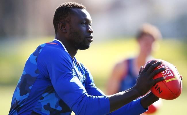 Majak Daw North Melbourne Footballer Taken To Hospital
