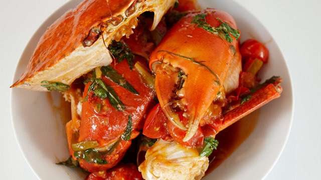 Chilli mud crab recipe