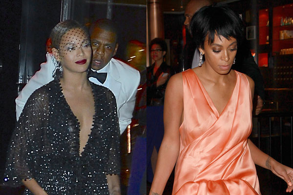 Breaking! Jay Z Beyonce and Solange speak out about