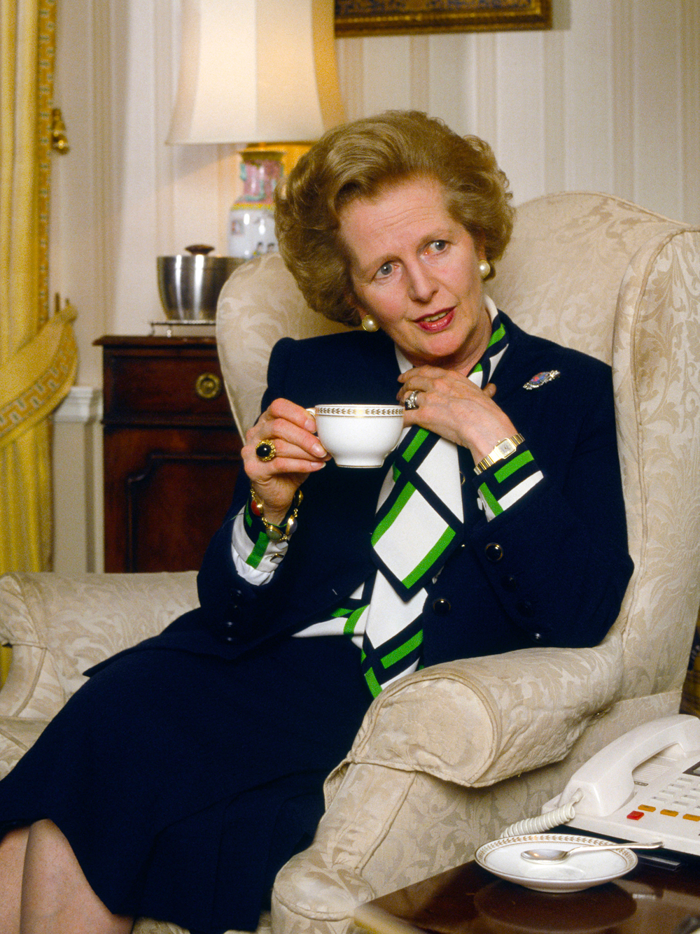 The Fight Over Margaret Thatchers Fashion Legacy 9Style