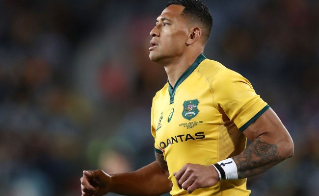 Rugby Australia Set To Sack Israel Folau After Second Outburst